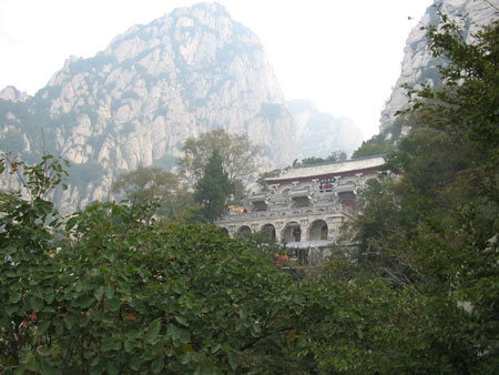 San Huang Zhai monastery at Song Mountain